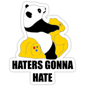 2906 Haters Gonna Hate