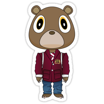 2909 Late Registration Dropout Bear