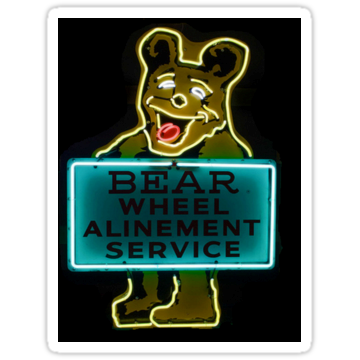 2913 Neon Bear Gas and Oil