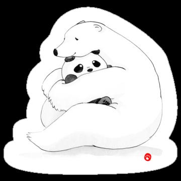 2916 Panda Bear Hug