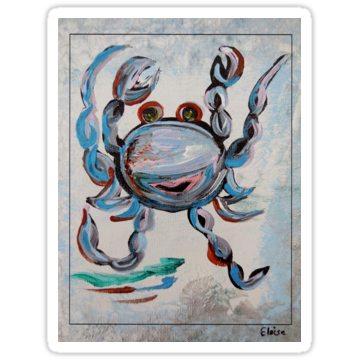 2925 Blue Crab Dancing