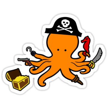 2955 Pirate Octopus