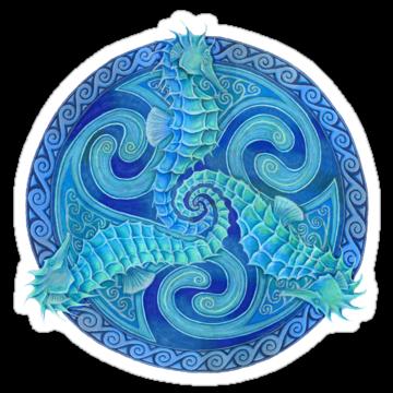 2960 Seahorse Triskele