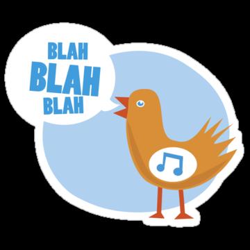 2981 Blah Blah Blah Bird