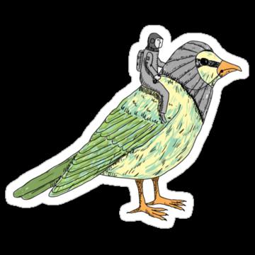 3001 Man On A Bird