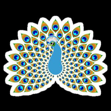 3007 Pretty Peacock