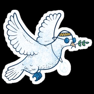 3017 The Hippie Dove