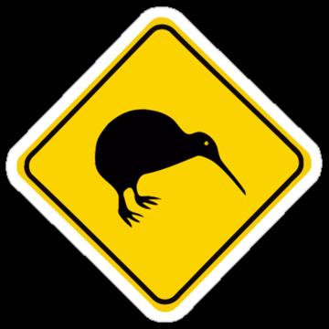 3023 Warning Kiwi