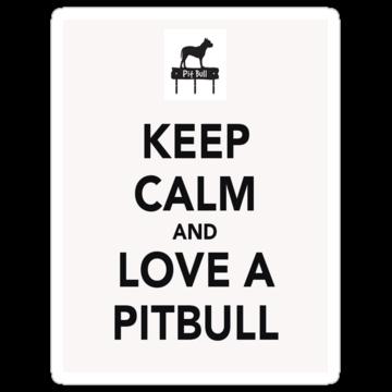 3058 Love A Pitbull