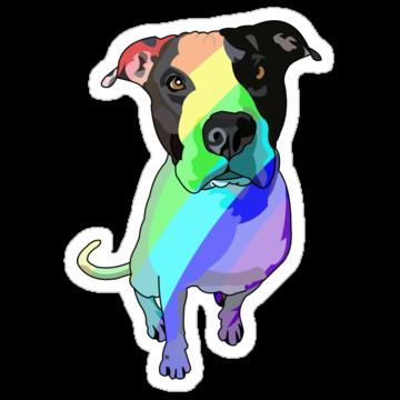 3065 Rainbow Dog