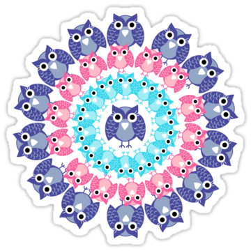 3081 Circle Of Owls