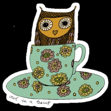 3105 Owl In A Teacup