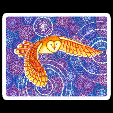 3107 Owl Pulsating Magic