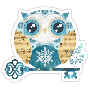 3135 Winter Wonderland Owl