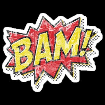 3141 Bam Comic Effect