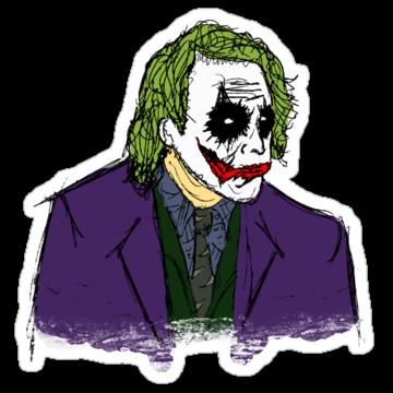 3170 Hand Sketched Joker