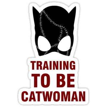 3188 Training to be Catwoman