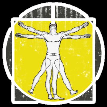 3228 Vitruvian X-Man Worn
