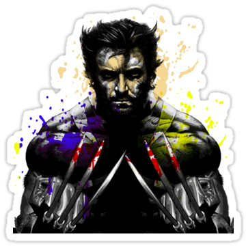 3233 Wolverine Painting