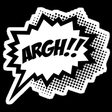 3243 COMIC ARGH!