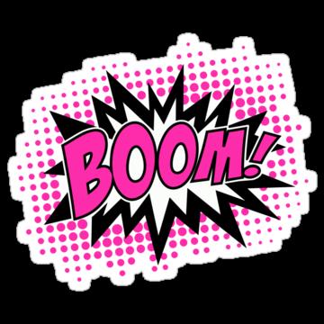 3247 COMIC BOOM Pink