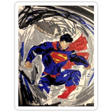 3271 Superman Abstraction