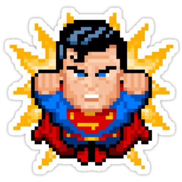 3280 Superman Pixel