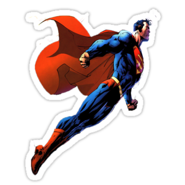 3283 SUPERMAN Sticker