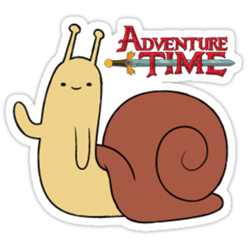 5060 Adventure Time - Waving Snail