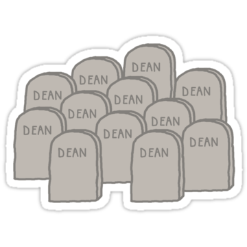 5175 Dean Winchester Graveyard