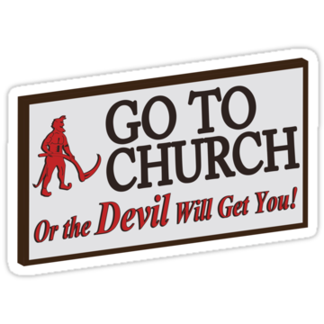 5188 Go to Church Sign