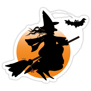 5192 Halloween Witch