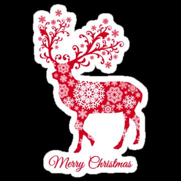 5275 Christmas deer