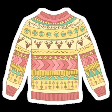 5276 Christmas Deer Sweater