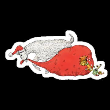 5278 Christmas Goat