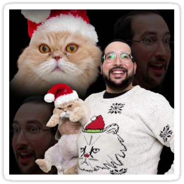 5298 Happy Holidays from Tim & Alex Newman