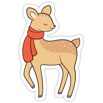 5303 Holiday Deer