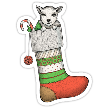 5307 Little Christmas Goat