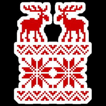 5315 Moose Christmas