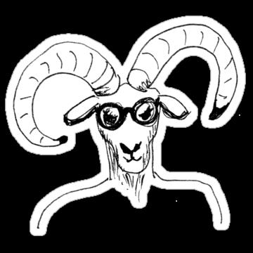 5317 Nerd Goat #1