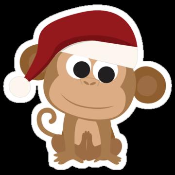 5337 Santa Monkey