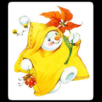 5344 Snowman Happy