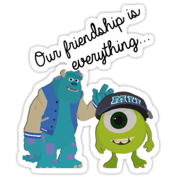Mike and Sulley - Bestfriends