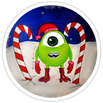 Mini Mike Wazowski Elf