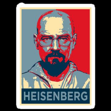 Walter White a.k.a. Heisenberg