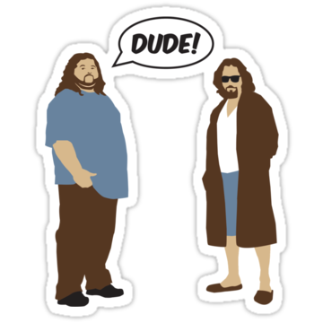 The Dudes (Lost - Big Lebowski)