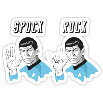 Star Trek Spock Rock