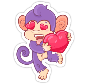 I love You! Funky Monkey