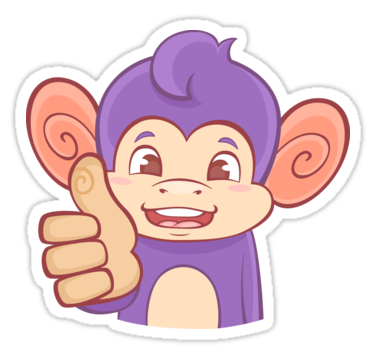 Thumbs Up Funky Monkey