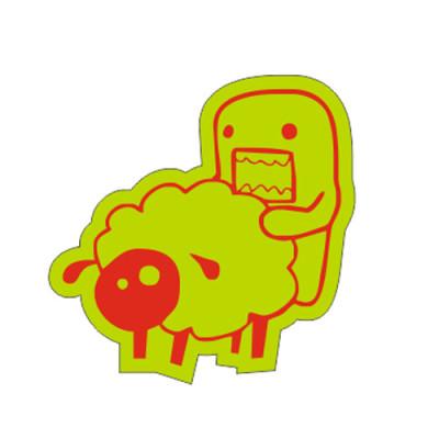 Domo Kun love sheep 9x9